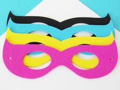 $10 Girls Superhero Foam Mask Party Favors {12 Pack} #birthday-party #boys-birthday #comic-book