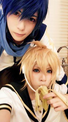 Kaito & Len | Vocaloid #cosplay #digital #singer