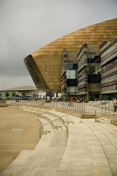 Cardiff Millenium Centre, Cardiff Bay, South Wales, UK