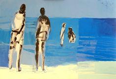 Seaside 3, Acrylic, 100cm x 70cm