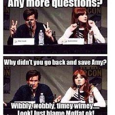 Moffat!! **shakes fist**