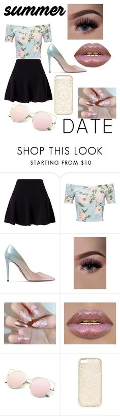 """""""❤️Summer Date❤️"""" by s-coviello1 ❤ liked on Polyvore featuring Miss Selfridge and Prada"""