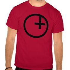 Luciferian Universalist Symbol Tee by Wraithe Designs.