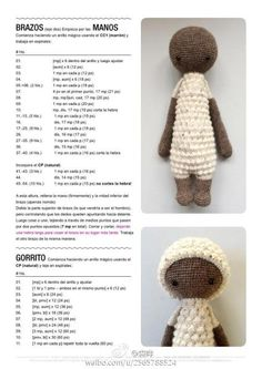 Amigurumi Horse and Donkey - A Free Crochet Pattern Crochet Doll Pattern, Crochet Patterns Amigurumi, Amigurumi Doll, Crochet Dolls, Crochet Bunny, Crochet Animals, Free Crochet, Diy Crafts Crochet, Stuffed Toys Patterns