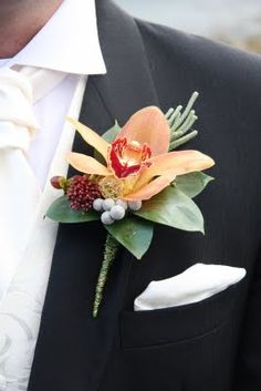 I have had the most fun making boutineres and corsages when I worked in a flower shop.