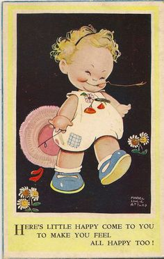 Mabel Lucie Attwell Postkarte eBay 3918