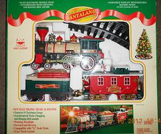 1997 Musical Animated Santaland Christmas Train SET | eBay