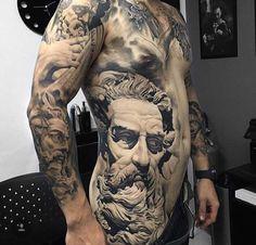 8 Meilleures Images Du Tableau Tatouage Zeus Cool Tattoos Greek