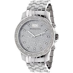 Luxurman Mens Diamond Watch 0.25 ct by Luxurman -- Awesome products selected by Anna Churchill