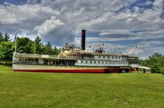 The Ticonderoga Boat at Burlington, Vermont