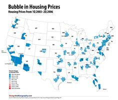 US Housing Boom, Bust and Recovery Maps — Visualizing Economics