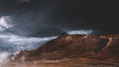 RISING SMOKE – Iceland on Behance by Kait Kybar