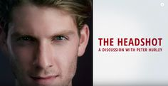 CREATING THE PERFECT HEADSHOT PORTRAIT   A DISCUSSION WITH PETER HURLEY  In this fun hour+ long lecture, master headshot photographer, Peter Hurley discusses his career and how he gets the perfect headshot portraits.