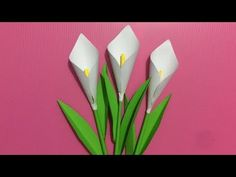 How to Make Paper Flower | Making Paper Flowers Step by Step | DIY-Paper Crafts - YouTube