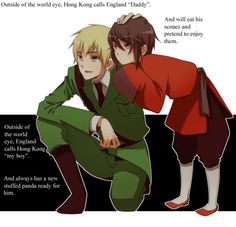 Hetalia Headcanons. Awwwwwwww. :) Makes me smile, but then makes me sad because it reminds me of America and England.