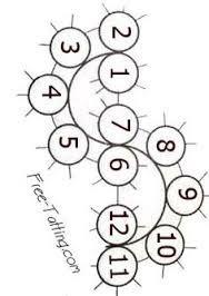 Resultado de imagen para tatting bookmarks patterns