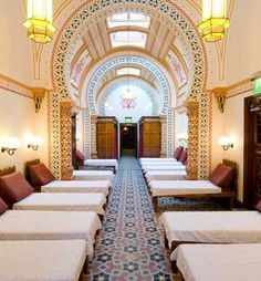 Turkish Baths in Harrogate...awesome relaxation