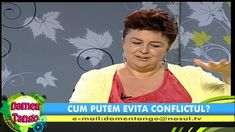 Cum putem evita conflictul? Loredana Latis la Nasul TV, partea 1/2 Tango, Tv, Facebook, Tvs, Television Set