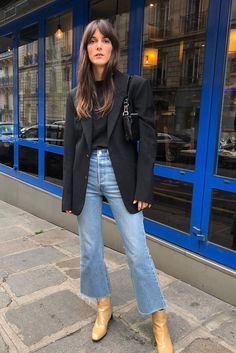 15 Effortless Chic Outfits For Fall – M Chic Outfits, Fall Outfits, Fashion Outfits, Pinterest Mode, Jeans Trend, Look Jean, Style Parisienne, Mode Jeans, Looks Street Style