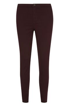 i live in jeans, and these dark red ones add a Christmassy touch!