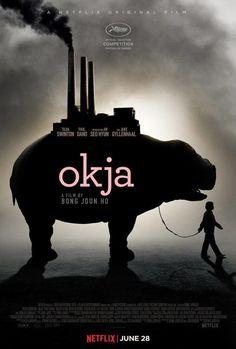 옥자 Okja by Bong Joon-ho Cannes2017 Competition Poster 광화문 씨네큐브 1관에서