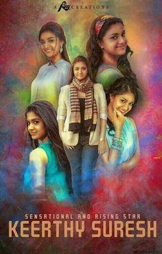 Beautiful Girl Indian, Most Beautiful Indian Actress, Indian Film Actress, Indian Actresses, Beautiful Smile, Beautiful Images, Kirthi Suresh, Diwali Wishes, Girl Fashion Style