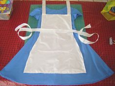 Alice In Wonderland easy costume tutorial dress copy (From Home Hinges) They are fab!