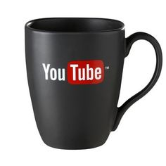 You Tube Black Quadra Mug
