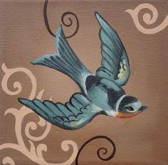 Beautiful swallow...