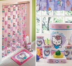 Hello Kitty Bathroom Decor