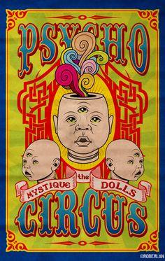 mystique the dolls