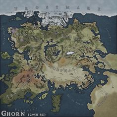 The center a good capital for a kingdom protected without being fully in circled Fantasy World Map, Fantasy City, Fantasy Castle, Imaginary Maps, Rpg Map, Dungeon Maps, Map Design, Environmental Art, Fantasy Landscape