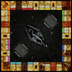 Fame for deviant artist Oddeh as their rather good Skyrim Monopoly mockup does the rounds among gamer and geek blogs. Does it make you want to play Monopol