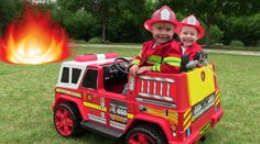 The little heroes get a new kids fire engine from the mayor who visits them at the fire station. The Spark is setting fires and causing trouble all over town...