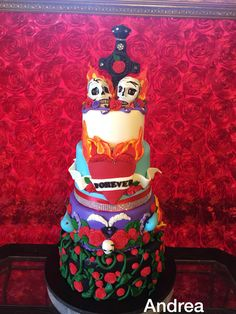 My Ed Hardy Cake