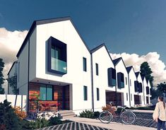 New Work, The Row, Behance, Profile, Houses, Mansions, Architecture, House Styles, Gallery