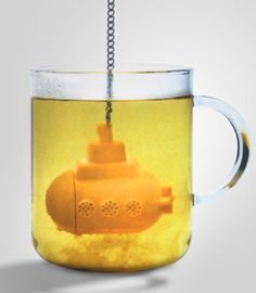 We all live in a Yellow Submarine.  This tea infuser is fabulous.