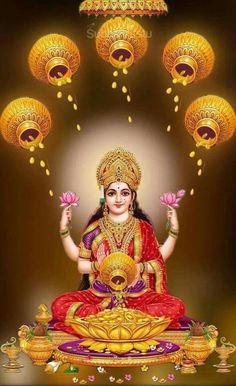 Time for wealth and riches om sai ram Lakshmi Photos, Lakshmi Images, Saraswati Goddess, Shiva Shakti, Durga Maa, Krishna, Hanuman, Indiana, Lord Ganesha Paintings
