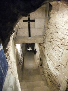 It is believed to be part of the home in which John the Baptist was born to Zechariah and Elizabeth, and perhaps even the site of his birth at the Church of Saint John the Baptist in Ein Kerem, Israel