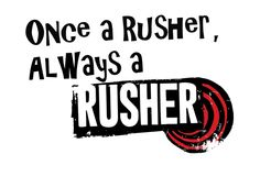 i'm a proud rusher