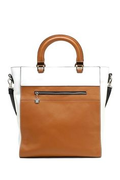 Square Colorblock Satchel by Tosca Handbags on @HauteLook