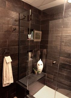 ceramic wood like tiles in shower - Google Search | bathroom ideas ...
