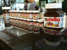For all those Nutella freaks out there.  This is from the Bar Suzette Creperie in Chelsea Market.