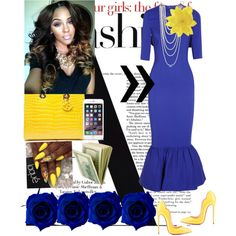 Happy Easter Sunday!!! by cogic-fashion on Polyvore featuring polyvore, fashion, style, Alessandra Rich, Christian Louboutin and Kenneth Jay Lane
