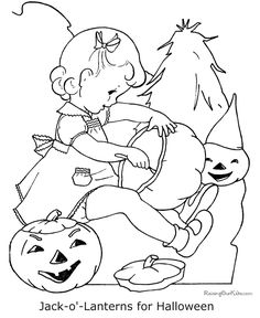 Halloween coloring pages for kids!