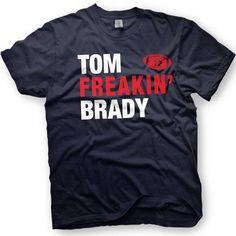 $12 Tom Brady Shirt- New England Patriots  -  Number 12 - Funny shirt