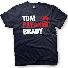 $12 Tom Brady Shirt- New England Patriots  -  Number 12 - Funny shirt