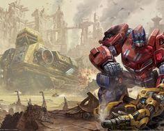 Carlsen 003 (Optimus Prime  Bumblebee)