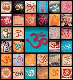 Many forms / shapes of OM, but one sound - AUM