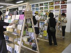 zines for reading, at the Tokyo Art Book Fair, 2010...